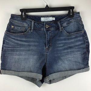 Torrid | Denim Roll Cuff Jean Shorts
